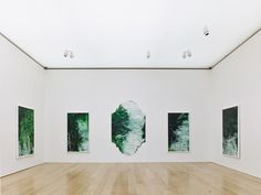 Untitled (A Painting in 9 Parts) fills one of the galleries in the Cy Twombly Pavilion at the Menil Collection (1533 Sul Ross St, 713-525-9400).