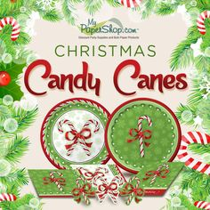 Christmas Candy Canes Party Supplies