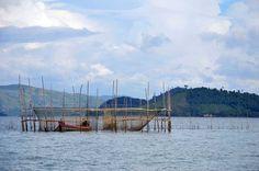 Fishing nets in #Burma http://www.wanderlust.co.uk/magazine/photography/boats-burma-and-beyond/fishing-nets-near-myeik/2172 #travel #Asia