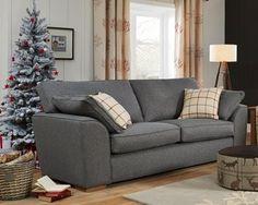buy stamford recliner recliner medium sofa 3 seats textured weave light grey large square. Black Bedroom Furniture Sets. Home Design Ideas