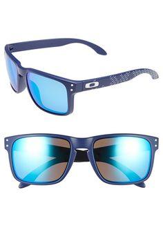 Men's Oakley 'Holbrook' 55mm Sunglasses - Matte Blue/ Sapphire Iridium