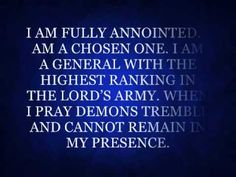 SPIRITUAL WARFARE PRAYER VIDEO