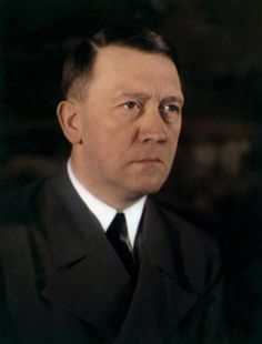 Hitler... Without his moustache! (photoshopped)