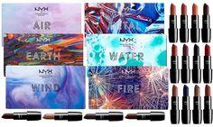 NYX palette e rossetti: acqua, terra, fuoco, aria, metallo, vento - https://www.beautydea.it/nyx-palette-rossetti-acqua-terra-fuoco-aria-metallo-vento/ - Gli elementi della natura sono i protagonisti indiscussi della nuova incredibile In Your Element Collection NYX Cosmetics!