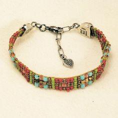 Staccato Bracelet - Bracelets - Shop Jewelry | Peyote Bird Designs