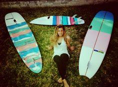 Proctor Surfboards Quivers | Proctor Surfboards Worldwide Custom    taylor bruynzeel: ladies quiver for ventura/LA county