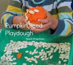 Pumpkin seed Playdough