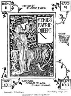 """The immortal lines of the great Elizabethan poets remain an integral part of our language : """" Ask not for whom the bell tolls"""" """" Drink to me only with thine eyes..."""" . John Donne , Ben Jonson , Phillip Sydney . Illustration : The Fairie Queene , Edmund Spenser ."""