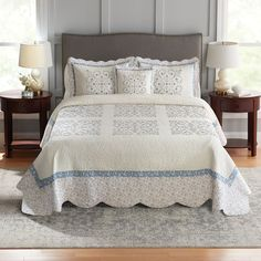 Croft & Barrow® Embroidered Bedspread or Sham Kohls Bedding, Embroidered Bedding, Sonoma Goods For Life, Blanket Cover, Bed Spreads, Bedding Sets, Comforters, Pillow Covers, Pillows