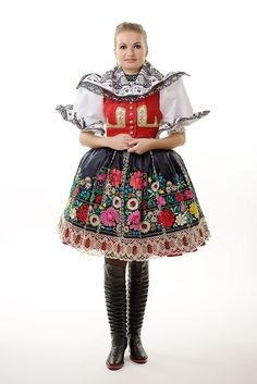 Moravia Costumes Around The World, Red Boots, Folk Costume, Beautiful Patterns, Dress Outfits, Dresses, Fashion History, Folklore, Traditional Outfits