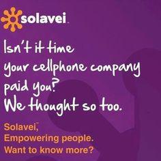 Empowering people. Helping the economy.  Learn more: www.solavei.com/DailyAbundance