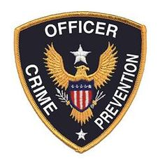 Crime Prevention Officer Shoulder Patch