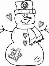 Free printable christmas coloring pages snowman ~ Black and White Snowman Catching Snowflakes Clip Art ...