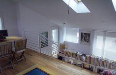 Biblioteca y sala de juegos de BrokenHome©CasaRota Broken Home, Traditional, Contemporary, Living Room Playroom, Architectural Firm, Trendy Tree