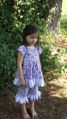 Girl's peasant Dresssize 3 with ruffles and by SouthernSister2, $35.00
