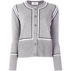 Shop our designer knitwear for women at Farfetch. Ribbed Cardigan, Striped Cardigan, Cotton Sweater, Hermione Granger Outfits, Thom Browne Cardigan, Cardigans For Women, Fashion Brand, Long Sleeve Tops, Knitwear