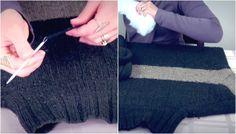 Un'idea molto utile per dare nuova vita ai vecchi maglioni che non indossiamo più. Se avete un cucciolo in casa ne sarà molto felice. Ecco in cosa l'ha trasformato!  Fonte Video: https://www.youtube.com/channel/UCrCfsJ32LxffiyvC7MWj4bQ