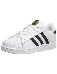 newest 817eb f0e52 adidas Originals Superstar I Basketball Fashion Sneaker M US Toddler   Classic fashion sneaker with leather upper featuring three-stripes branding  and rubber ...