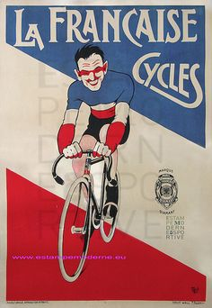 French cycle poster
