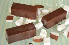 Barres glacées choco coco façon Bounty via @sophieturbigo