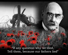 Born on 30 Dcember in 1865, Bombay (Mumbai) poet, journalist and novelist Rudyard Kipling. There is much, much more to him than imperialism. His anti war epigrams after his son's death are scorchingly powerful.