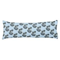 Trumpeter Pigeon Blue Barless Body Pillow $89.25 by diane_jacky - cyo diy customize personalize unique