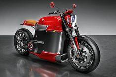 Tesla Model M. Así sería la motocicleta eléctrica de Tesla para un diseñador londinense.