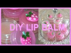 DIY GIFT: JELLO LIP BALM (Hydrating & Moisturizing DIY Strawberry Lip Balm) - AprilAthena7