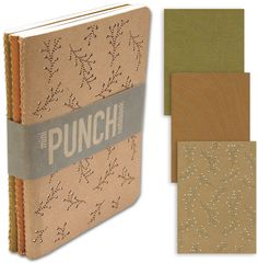 One Good Thing: Mini Punch Notebooks - Home - Creature Comforts - daily inspiration, style, diy projects + freebies