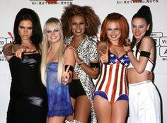 Music: Mel B Emma Bunton and Geri Halliwell had a Spice Girls reunion Moda Victoria Secret, Victoria Secret Fashion, Girl Group Halloween Costumes, Group Costumes, Halloween Boo, Halloween 2019, Costume Halloween, Halloween Ideas, Happy Halloween
