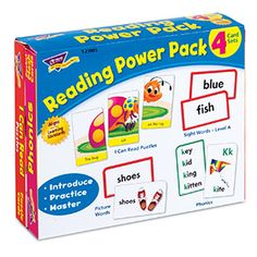 Reading Power Pack from TREND. Teacher-created, award-winning learning products for Pre-K to Grade 9. TRENDenterprises.com.