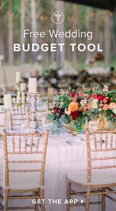 Get our FREE Wedding Planning App! It's got a checklist, budget tracker, and a directory of top rated wedding professionals to help you plan your big day! Wedding Images, Wedding Themes, Wedding Venues, Wedding Decorations, Free Wedding, Perfect Wedding, Our Wedding, After School, Wedding Table