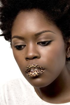 Violent Lips - Leopard  Simple and Flawless!!!