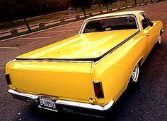 1965 Chevrolet El Camino Rear Right View