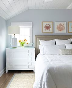 Blue Grey Paint Bedroom