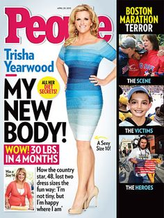 """Trisha Yearwood Weight Loss: Country Star Loses Two Dress Sizes """"tight size 14 to a slim size Lose 10 Pounds In A Week, Losing 10 Pounds, Losing Weight, Trisha Yearwood, Everyday Workout, Fad Diets, People Magazine, Slim Body, How To Run Longer"""