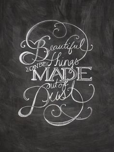 it's not even the quote i enjoy. it's the gorgeous hand lettering... sigh. someday, i will do this.