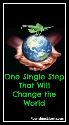 We can change the world! Each of us has the power to change the world with this simple step. #activism #freedom