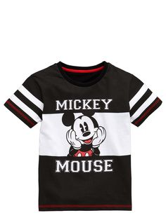 Mickey Mouse BOYS SHORT SLEEVE T-SHIRT (1-6yrs)   very.co.uk