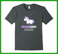 Mens Unicorn Bubbie Shirt, Funny Cute Magical Gift Small Dark Heather - Fantasy sci fi shirts (*Amazon Partner-Link)
