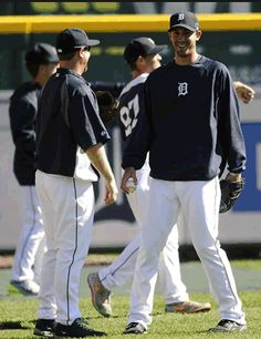 The Detroit Tigers Rick Porcello - October 2013
