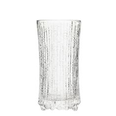 Ultima Thule sparkling wine, clear, set of 2, by Iittala. Designed by Tapio Wirkkala.