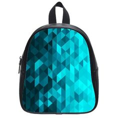 New Arrival–Superb Turquoise 4.13″ 9.05″ 10.63″ Cute School Bag Backpack for Kids Children