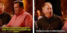 A new drinking game…