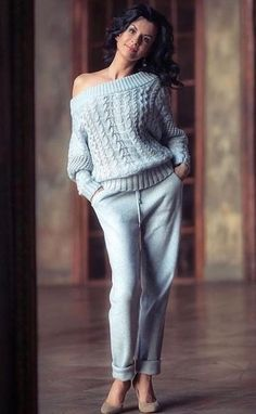 Gorgeous lace ღ Awesome fashion clothes for stylish women f Knit Fashion, Girl Fashion, Fashion Outfits, Womens Fashion, Yeezy Fashion, Casual Chique, Cool Sweaters, Crochet Clothes, Knitwear