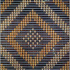 Tukutuku Marama Flax Weaving, Basket Weaving, Maori Patterns, Maori Designs, Bamboo Art, Maori Art, Kiwiana, Fair Isle Pattern, Pattern Library