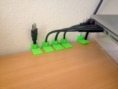 Customizable Cable Holder by xifle - Thingiverse
