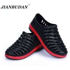 JIANBUDAN Professional wholesale EVA slippers men / garden shoes / Nest Mens Leisure sandals summer hollow hole shoes men #>=#>=#>=#>=#> Click on the pin to check out discount price, color, size, shipping, etc. Save and like it!