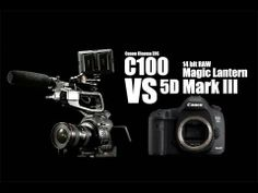 C100 VS 5D Mark III 14bit Raw (Which one is better?) - YouTube