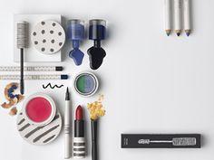 Topshop cosmetics packaging.